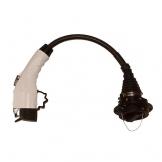 typ1 stecker zu typ2 buchse adapter