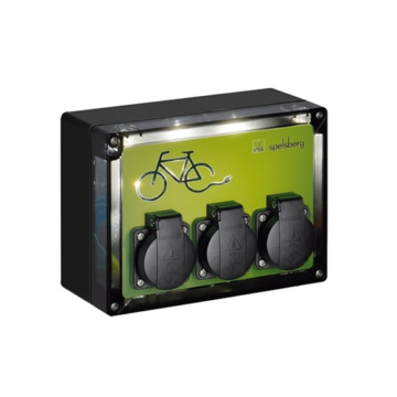 Spelsberg e bike ladestation led